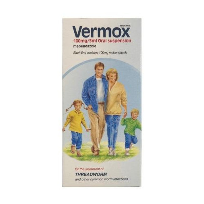 Vermox Oral Suspension 30ml | Discreet Shipping |