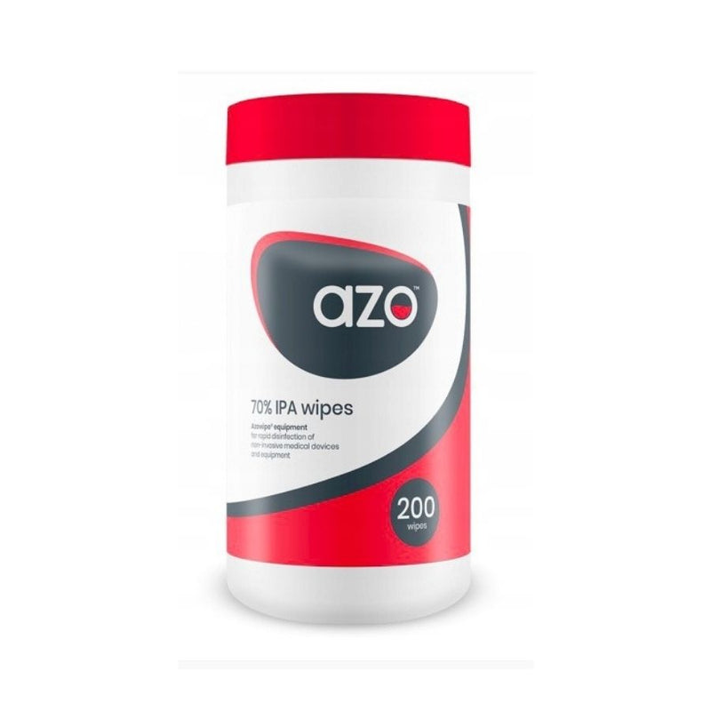 Azo 70% IPA Alcohol Sanitiser Wipes-200pack