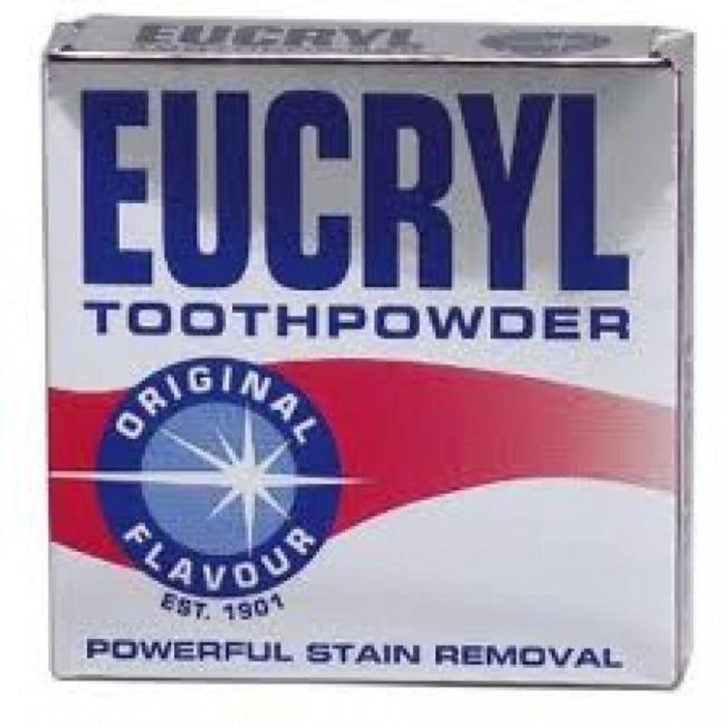Eucryl Toothpowder- Original | Teeth Whitening | Eucryl online Ireland