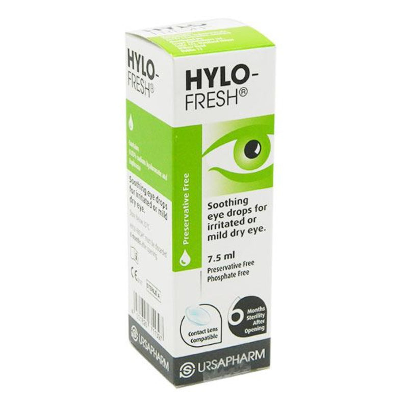 Hylo-Fresh Preservative Free Eye Drops 7.5ml