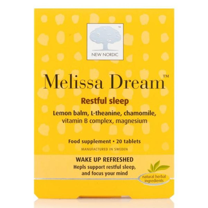 Melissa Dream Restful Sleep Tablets - 20 Tablets