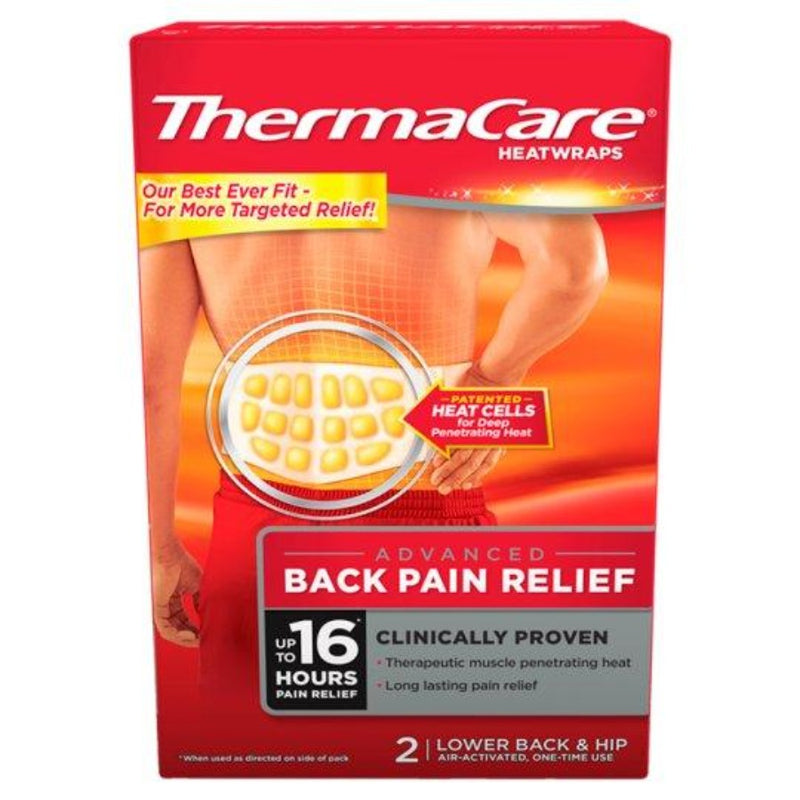 ThermaCare Heat Wrap Pain Relief -Lower Back & Hip