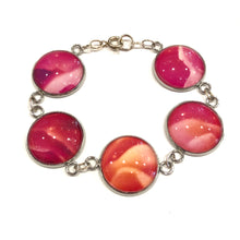 Load image into Gallery viewer, one of a kind, abstract photo bracelet