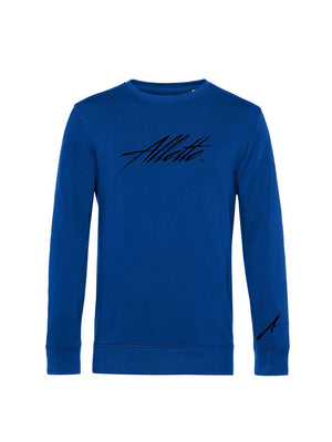 Allette Scribble Crew Neck Sweat (Royal Blue)