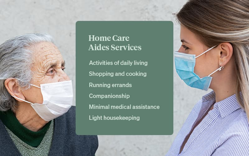 services that home care aides provide