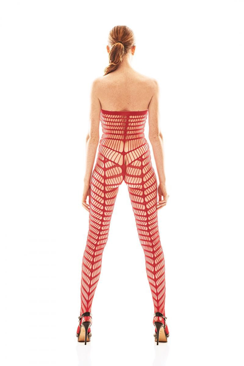 roter Bodystocking AA052199