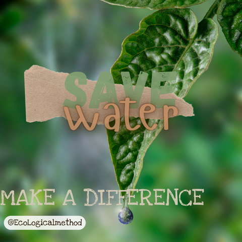save water eco friendly sustainable life green zero waste guide