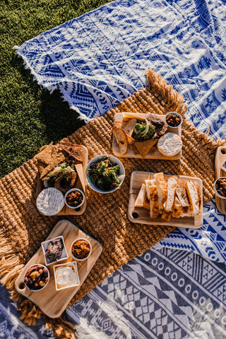 Sustainable picnic zero waste out door eco friendly lifestyle