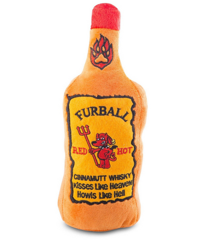 FURBALL CINNAMUT WHISKEY TOY