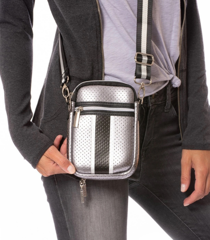 CASEY STRIPE CELLPHONE BAG (2 COLORS)