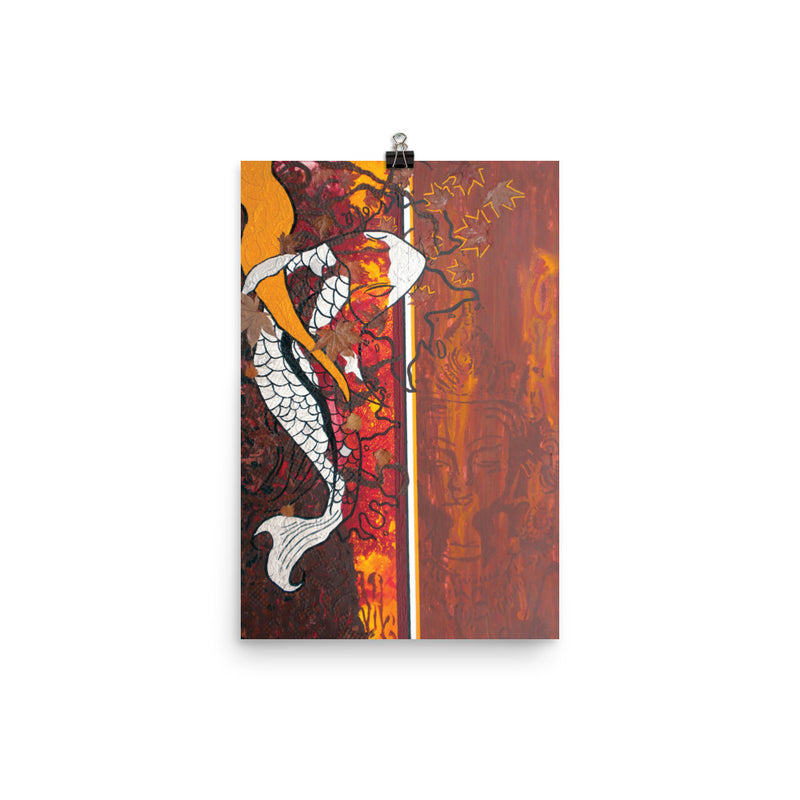 Koi Faith - Art Print