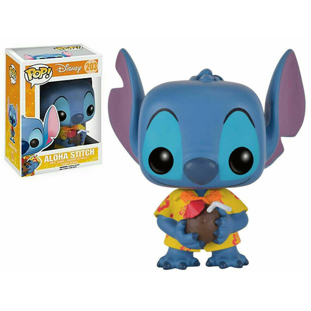 Lilo & Stitch Aloha Stitch Funko Pop! Vinyl DAMAGED OUTER BOX