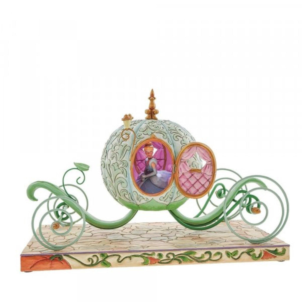 Disney Traditions Enchanted Carriage Cinderella Carriage Figurine 6007055 - NEXTLEVELUK