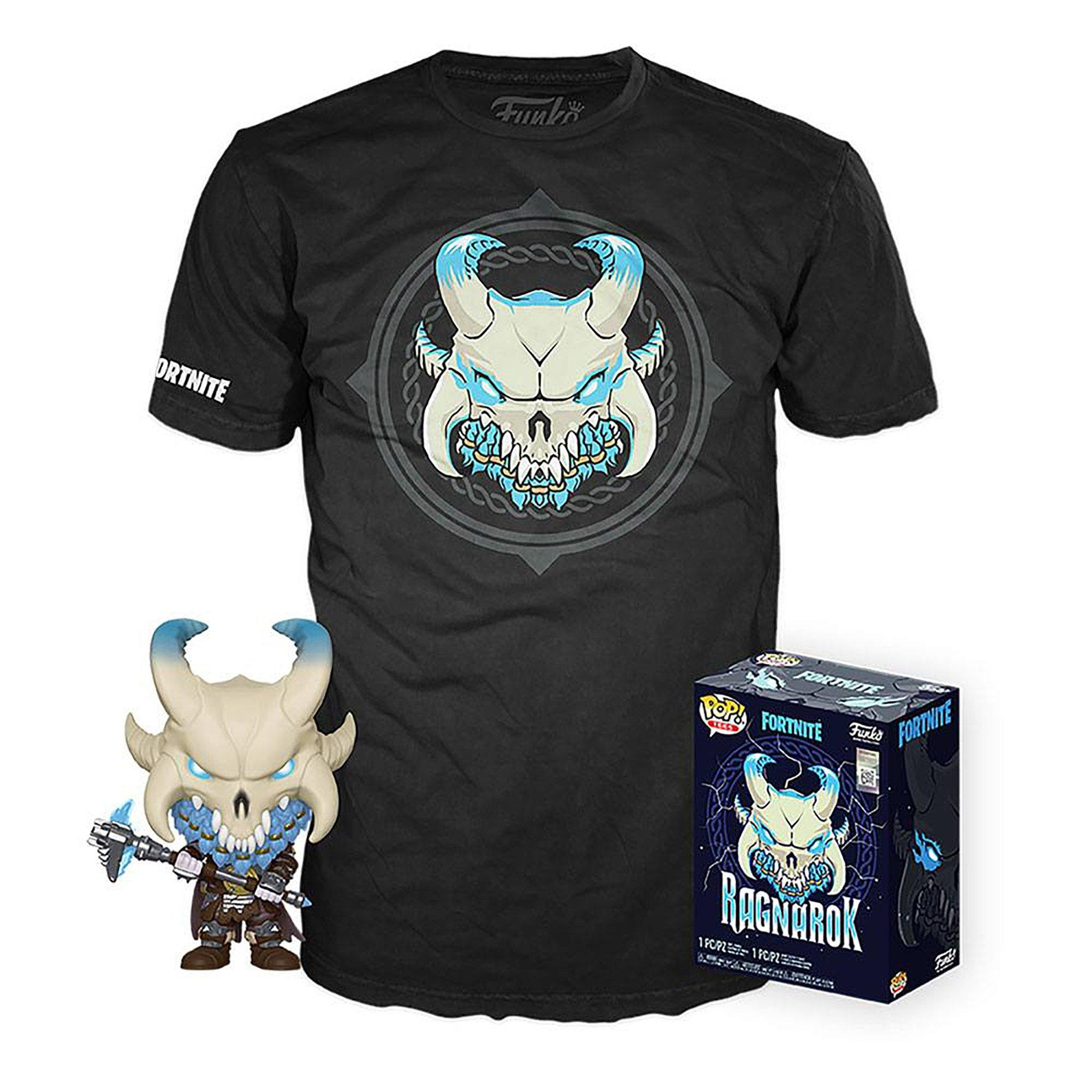 Fortnite POP! & Tee Box (Large) Ragnarok Funko Pop! Vinyl - NEXTLEVELUK