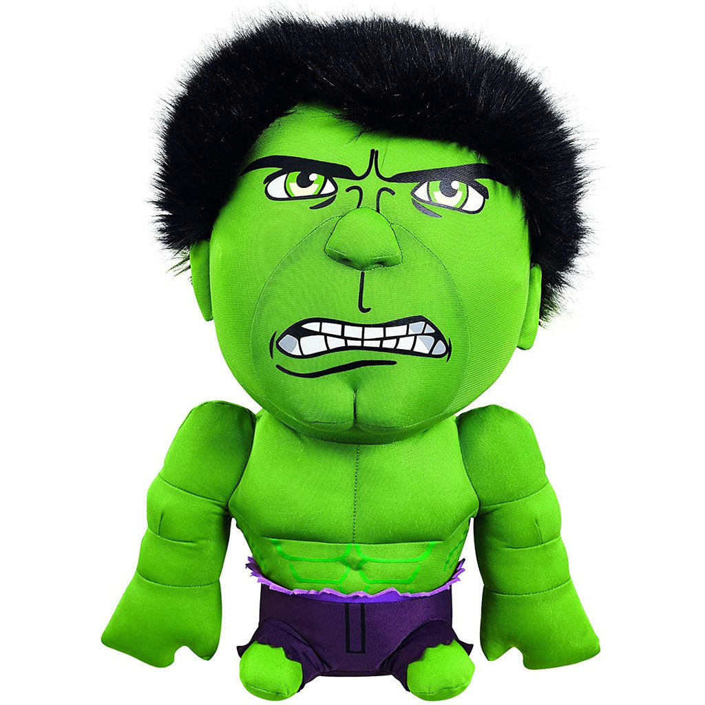 Marvel Hulk Deluxe Talking Plush