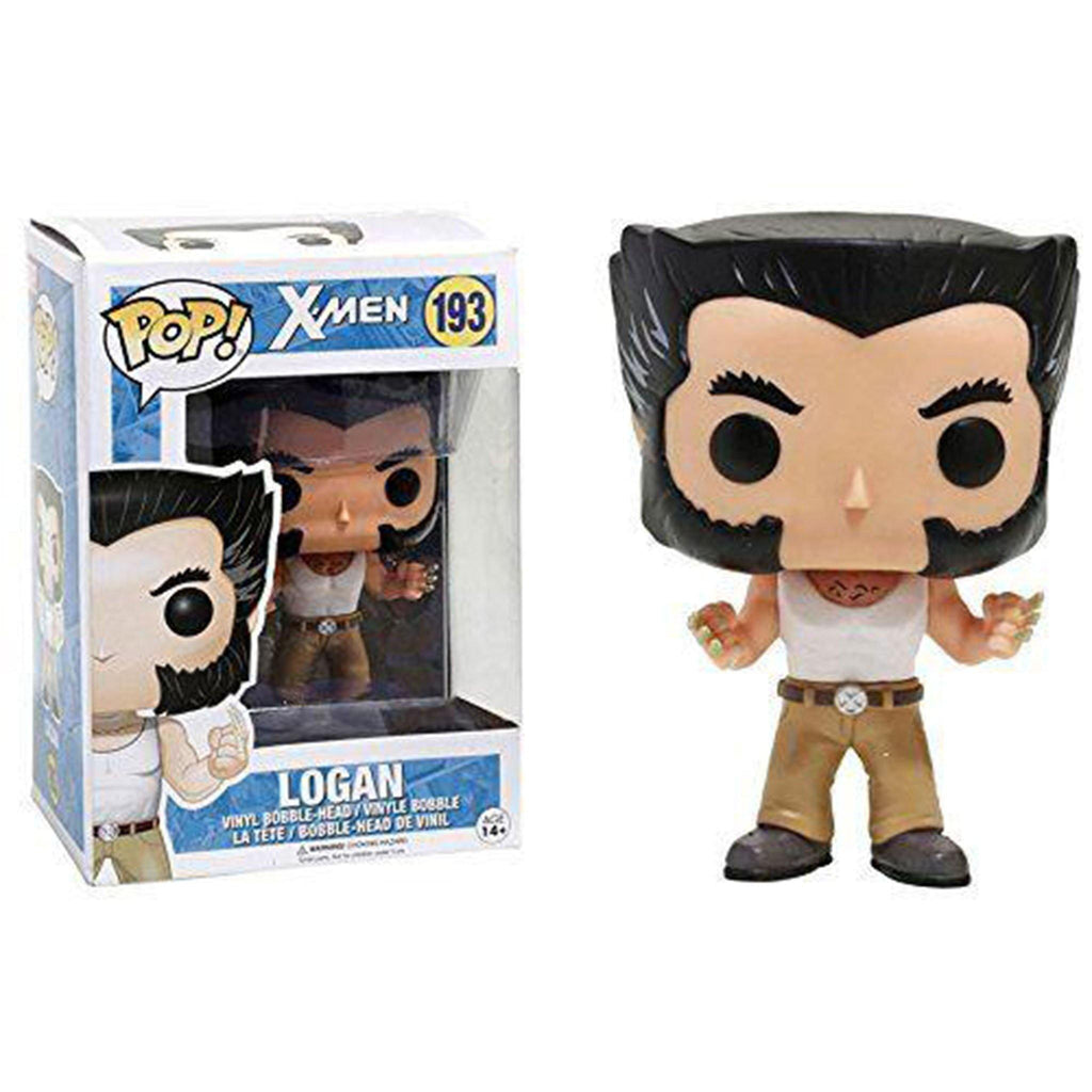 Marvel X-Men Logan In Tank Top Funko Pop! Vinyl - NEXTLEVELUK