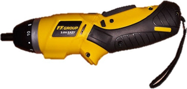 Battery screwdriver FF Group CSC 3.6 V EASY-41312