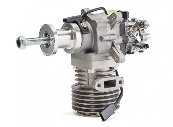 RCGF 15cc MK2 Side Exhaust Gas Engine w/CD Ignition and Walbro Carb 2.1HP@9500rpm