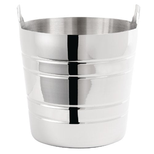 Stainless Steel Wine Bucket 190X204mm Champagne Beer Bowl Ice Cooler