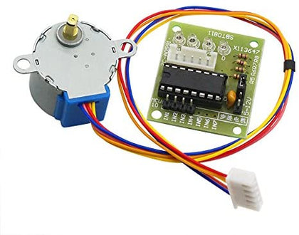 5V 4-Phase Stepper Motor + Driver Board ULN2003 Compatible with Arduino