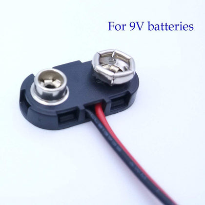 9V Battery Snap Connector 9 Volt Battery Clips Connector Buckle