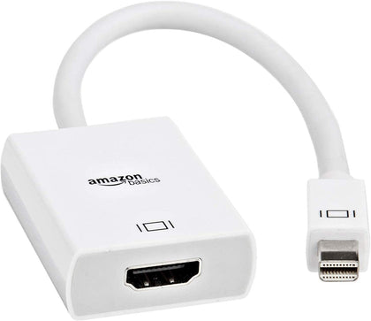 Mini DisplayPort Thunderbolt to HDMI Adapter - Compatible with Apple iMac and MacBook