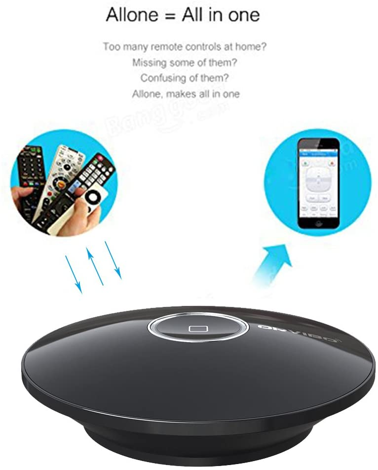Orvibo New Allone Pro, Wifi Smart Home Hub Box Intelligent Controller, IR RF All in One Automation Home Automation Remote Control Compatible for Apple Android Smartphone