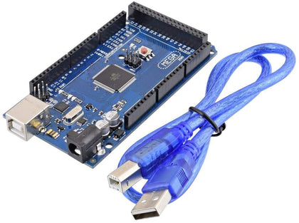 Mega 2560 R3 ATmega328P 16U2-MU Compatible Board FREE USB Cable For Arduino