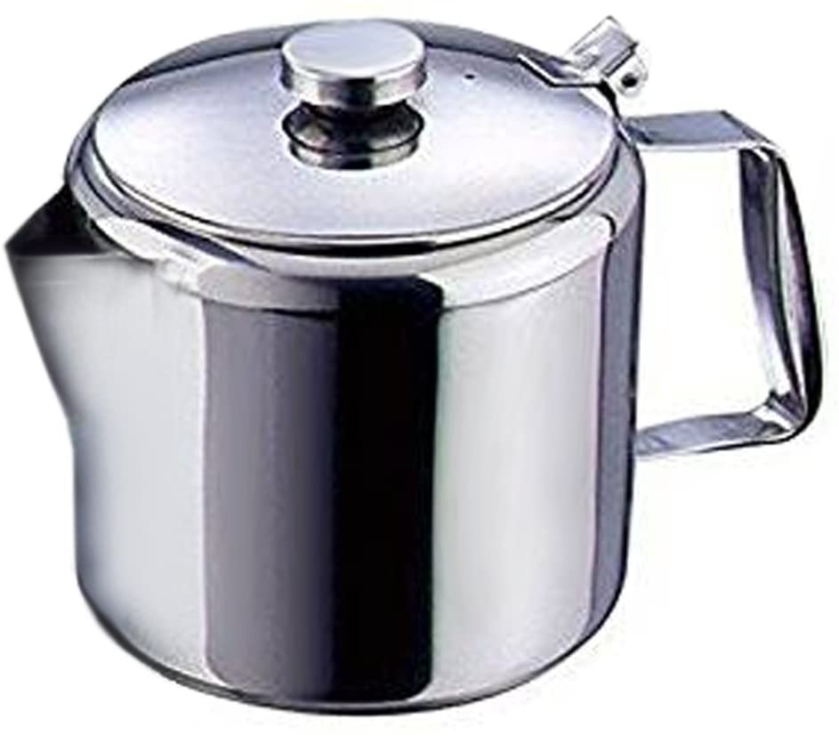 ONIEL - Teapot in Stainless Steel with Lid - Milk Jug - 600 ml - Silver