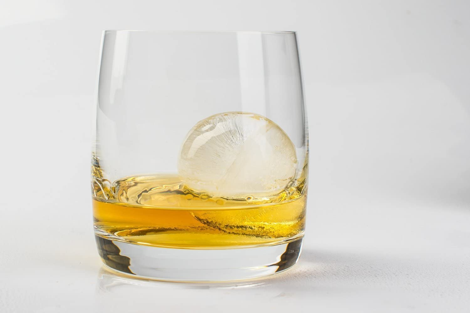 Durable Ice Ball Mould - Silicone Ice Mold Tray For High Quality Food Grade - Ultra Slow Melting Ice Sphere - Perfect For Cocktail, Whiskey, Liquor & Other Drink - Blusmart