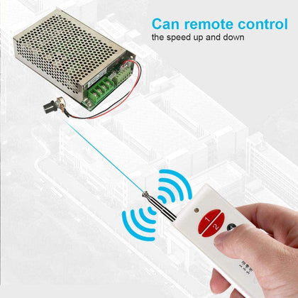 Remote Control DC Motor Governor Speed Controller 12V/24V/30V 30A Forward and Reverse