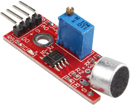 High Sensitivity Microphone Sound Voice Detection Sensor Module Compatible with Arduino Raspberry Pi AVR PIC