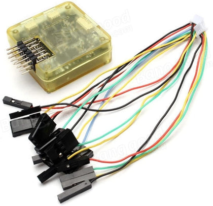 CC3D EVO Flight Controller 32-bit with Case Side Pin 90 Degree with Cables