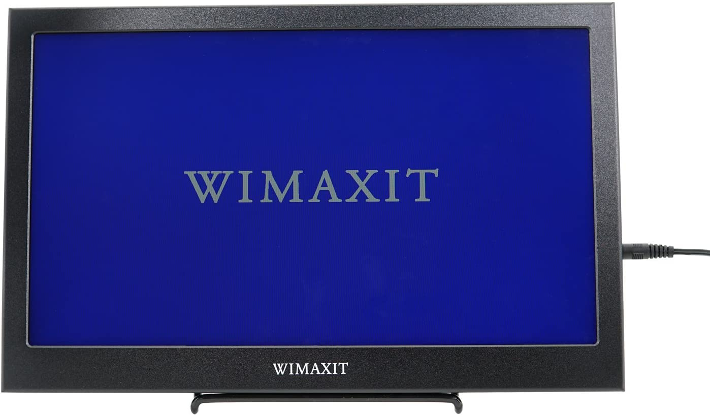 WIMAXIT Portable HDMI Monitor, 13.3 Inch IPS 1920X1080 16:9 Display Aluminum Housing HDMI Monitor Screen Game Monitor for PS3/PS4/X box/Raspberry PI