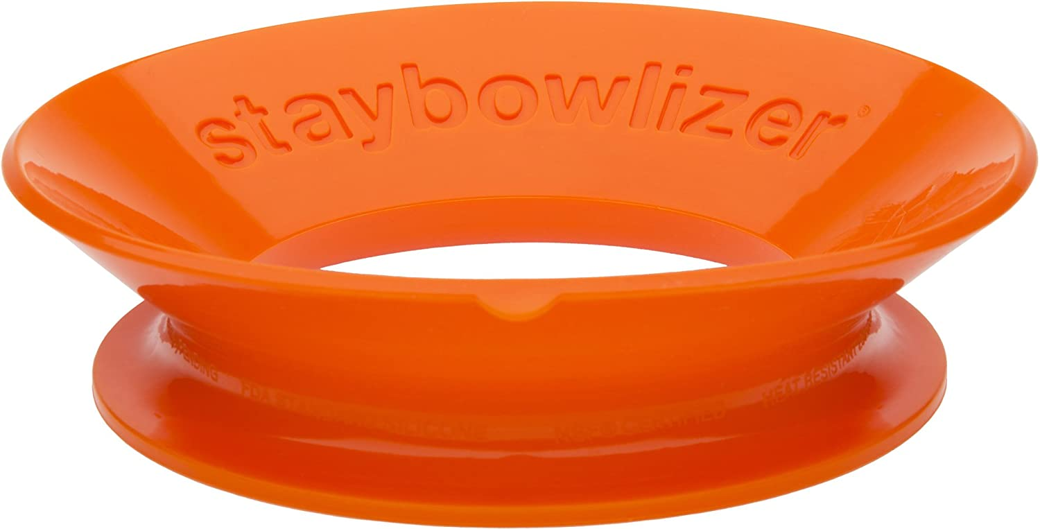 Microplane Staybowlizer Bowl stabilizer Silicone Orange