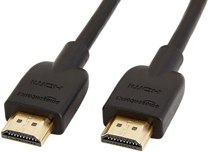 High-Speed, Ultra HD HDMI 2.0 Cable, Supports 3D Formats and with Audio Return Channel, 1.8 m