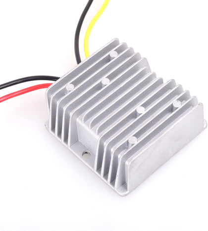 DC 24v to DC 12v 30A 360W Heavy Duty Power Supply Adapter Step Down Converter Voltage Changer Reducer Regulator for Auto Car Truck Vehicle Boat Solar System etc.(Accept DC15-40V Inputs)