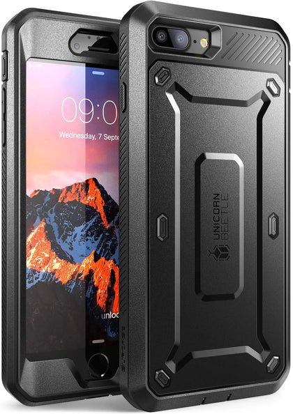 SUPCASE iPhone 7 Plus Case, iPhone 8 Plus Case, Full-body Rugged Holster Case