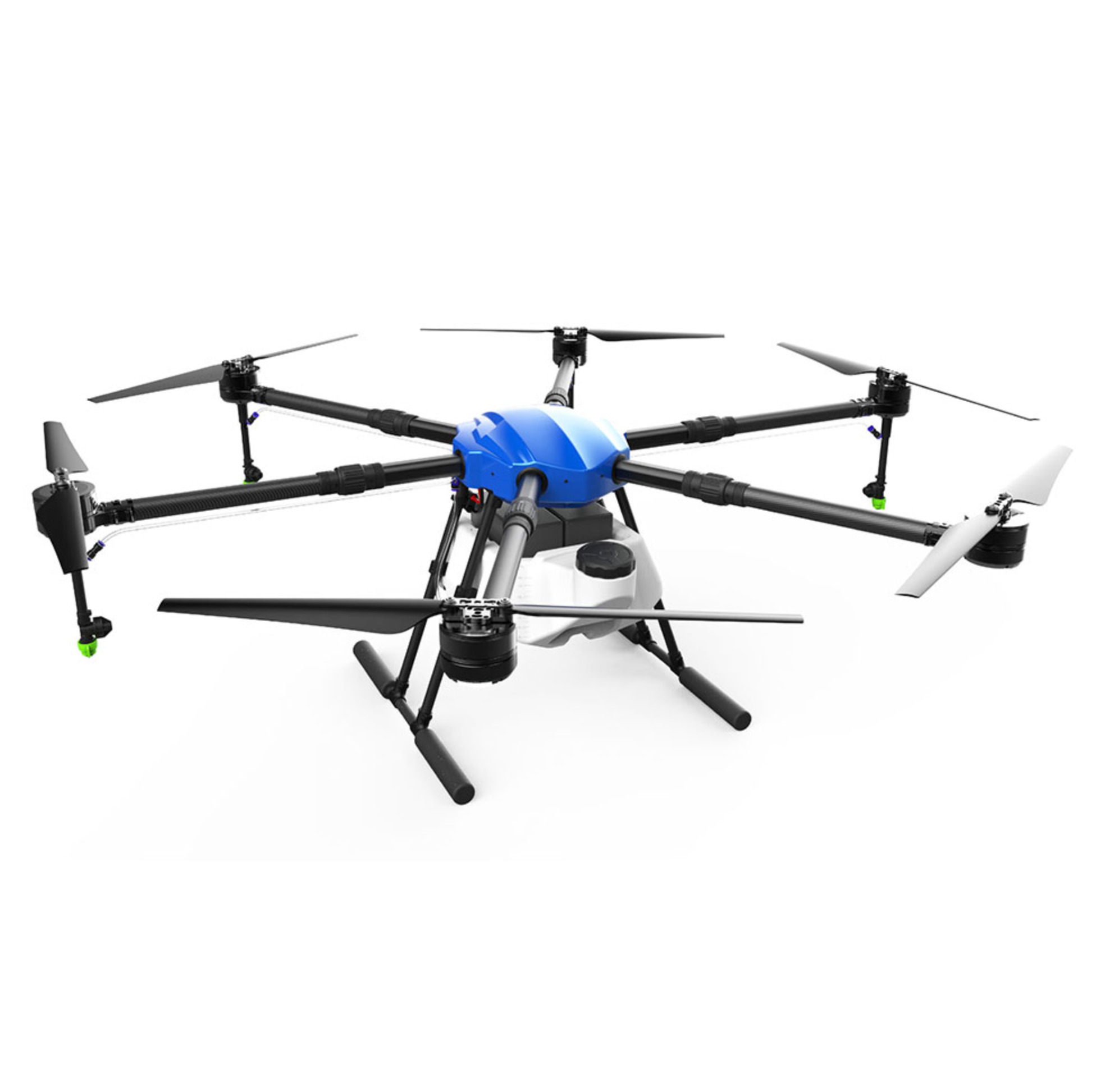 EFT E610S 10L Agricultural spraying drone E610S 10KG folding wheelbase frame brushless water pump spray X6 power system kit