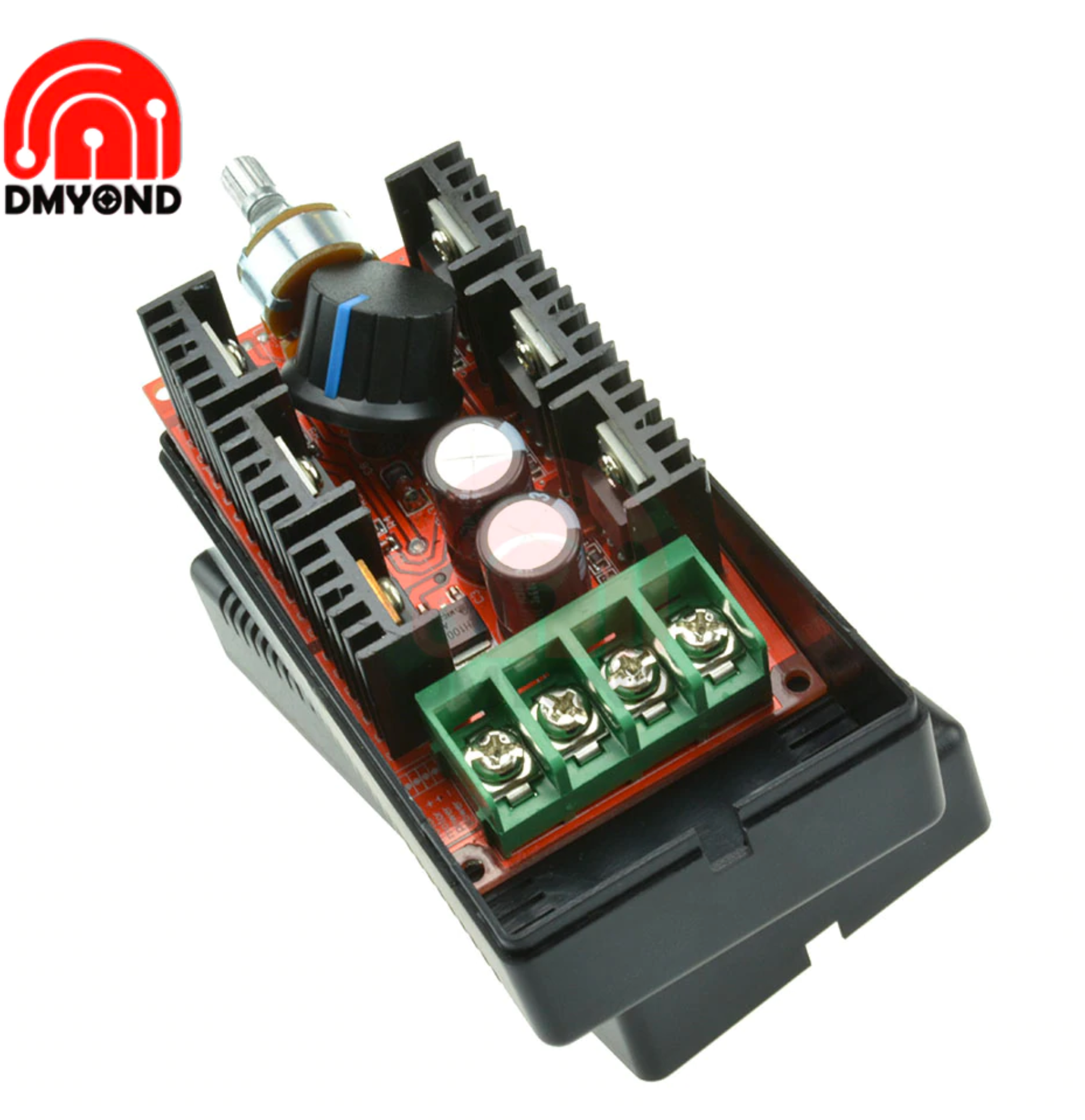 40A DC 9-50V Motor Speed Controller 2000W Voltage Regulator Dimming Dimmers Motor Speed Control Thermostat Electronic Module 12V