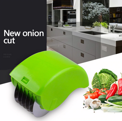 Cutter Slicers Kitchen Vegetable Chop Herb Rolling Roll Rollers Mincer Stainless Steel Blade