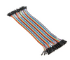 40pcs 20cm Female to Female Jumper Cable Dupont Wire