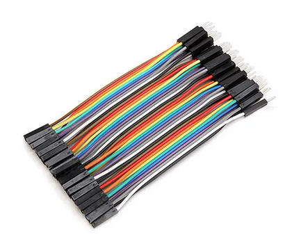 40pcs 10cm Male To Female Jumper Cable Dupont Wire