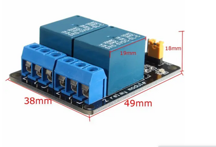 5V 2 Channel Relay Module Control Board With Optocoupler Protection Geekcreit for Arduino