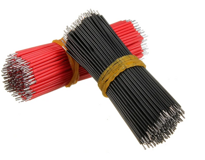 6cm Breadboard Jumper Cable Dupont Wire Electronic Wires Black Red Color