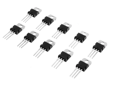 10value LM317T L7805 L7806 L7808 L7809 L7810 L7812 L7815 L7818 L7824 Transistor Assortment