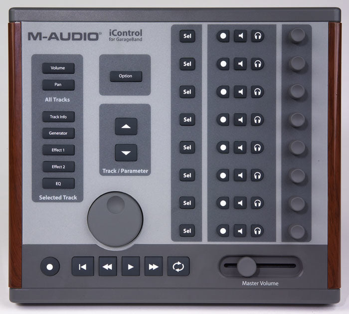 M-AUDIO iCONTROL GARAGE BAND MIXER