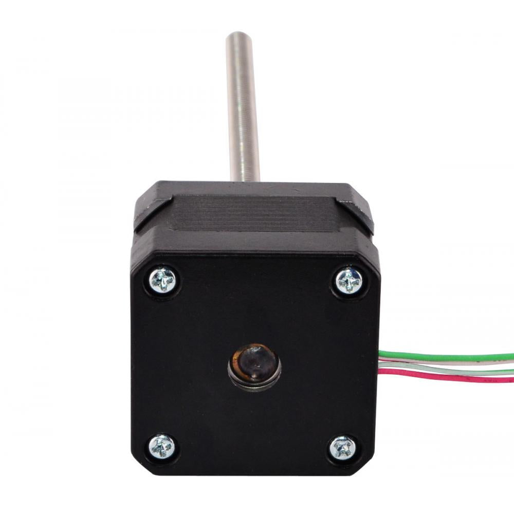 Nema 17 Stepper Motor External 34mm Stack 0.4A Lead 4mm/0.15748