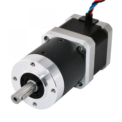 Nema 17 Stepper Motor L-39mm Gear Ratio 100:1 High Precision Planetary Gearbox