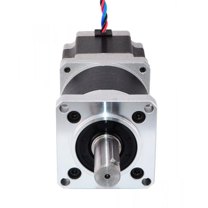 NEMA 23 STEPPER MOTOR L-56MM GEAR RATIO 100:1 HIGH PRECISION PLANETARY GEARBOX